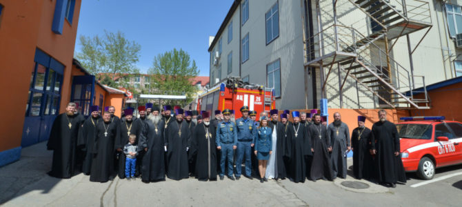 Семинар по пожарной безопасности для настоятелей приходов Джанкойской епархии