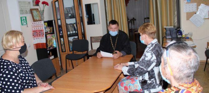 Встреча с получателями социальных услуг Центра социального обслуживания Раздольненского района