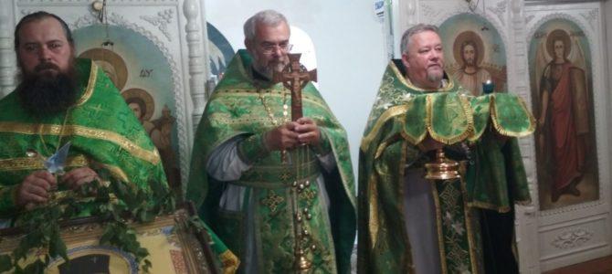Престольный праздник храма в честь Святого Духа с. Ново-Степного