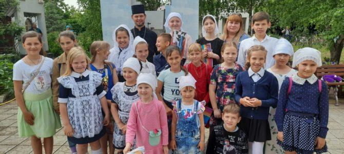 Праздник последнего звонка в воскресной школе Свято-Рождественского храма п. Первомайского
