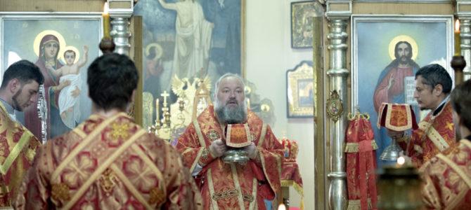 Божественная литургия в понедельник седмицы 6-й по Пасхе