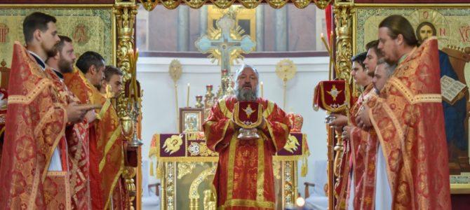 Божественная литургия в отдание праздника Пасхи