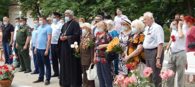 Благочинный Красноперекопского округа принял участие в митинге в День памяти и скорби