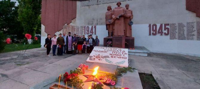 В День памяти и скорби совершена панихида по павшим воинам у мемориала в селе Садовом