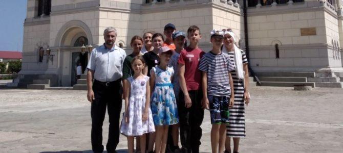 Детское паломничество к святыням Севастополя