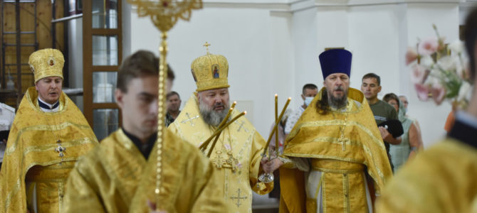 Божественная литургия в неделю 7-ю по Пятидесятнице