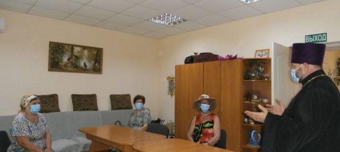 Очередная встреча в Раздольненском центре социального обслуживания