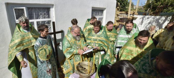 Совершен чин на основание храма в честь вмч. Пантелеимона г. Красноперекопска
