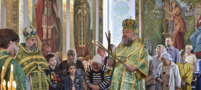 Божественная литургия в неделю 12-ю по Пятидесятнице