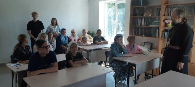 Открылась воскресная школа при храме Казанской иконы Божией Матери в п. Красногвардейском